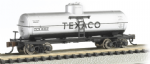 Bachmann 17854 N Scale ACF 36ft.6in. 10,000 Gallon Single-Dome Tank Car Texaco